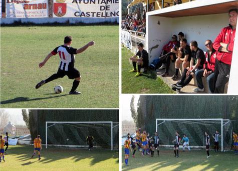 Momentos del encuentro y penalti