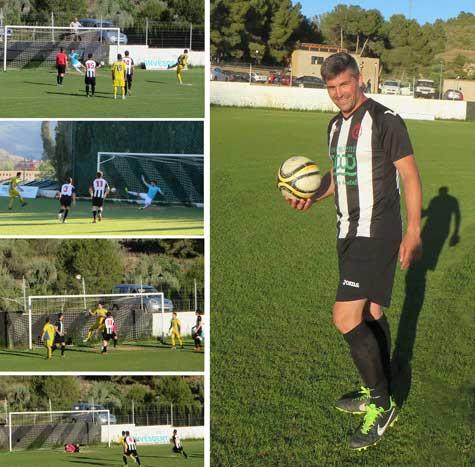 Imágenes del encuentro y goleador