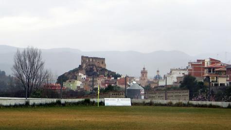 """Castellnovo pueblo desde """"La Mina"""""""