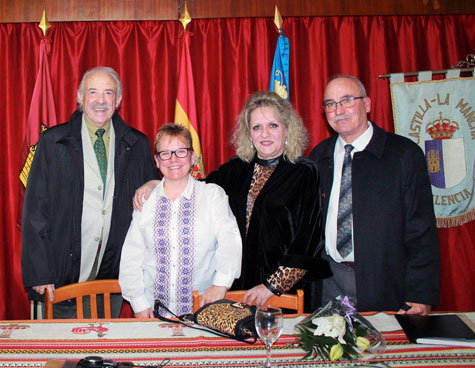 Francisco, Ángeles, Juana y Antonio