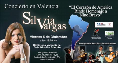 Concierto de Silvia Vargas en Valencia
