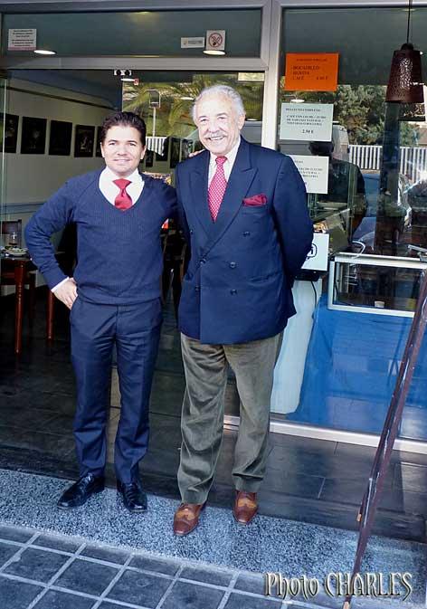 Gustavo Schiavo y Francisco Ponce