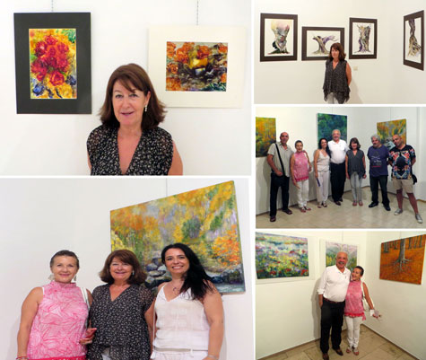Amigos de la pintora  Mari Carmen Satué