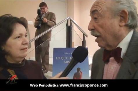 LiterNauta Tv. entrevista al poeta Jesús Munárriz (Colabora Francisco Ponce)