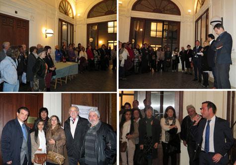 Momentos de la inauguración del evento