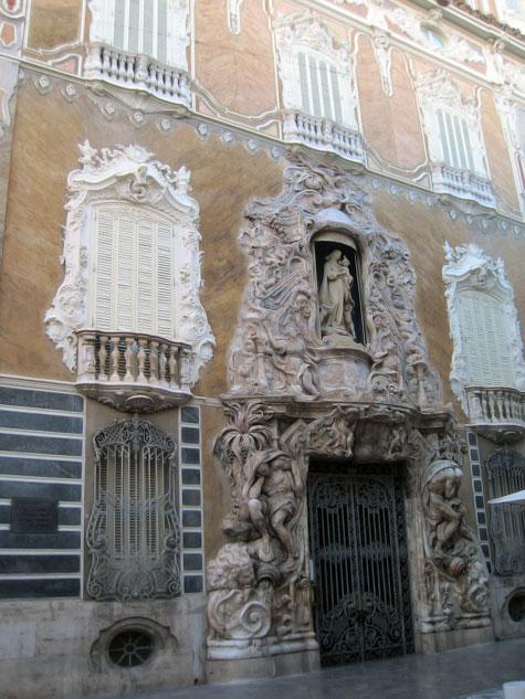 Puerta Principal Palacio Marques de Dos Aguas