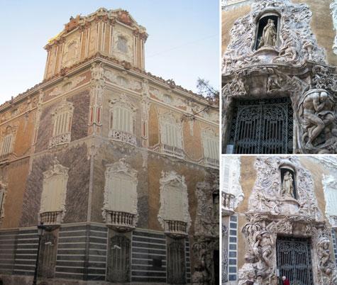 Conjunto edificio Palacio Marques de Dos Aguas