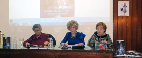 Mesa presidencia del evento