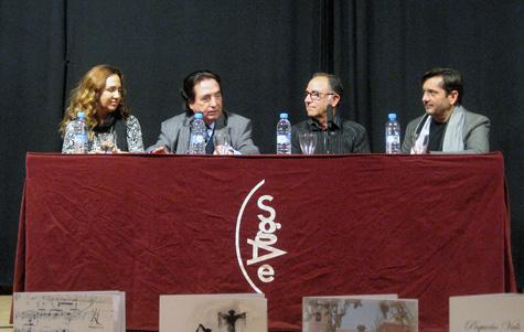 (Anabel García - Enrique Gracía - Pep Llopis - José María Gallardo)