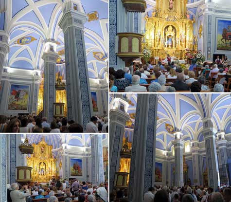 Misa Baturra en Santa Eulalia