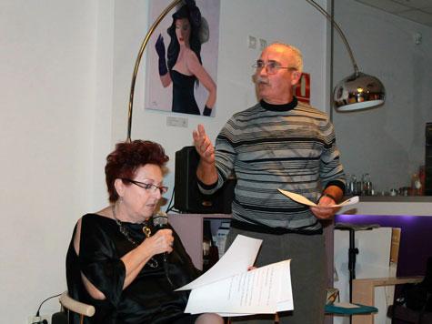 Actuación de Lola Cañada Y Antonio Baños