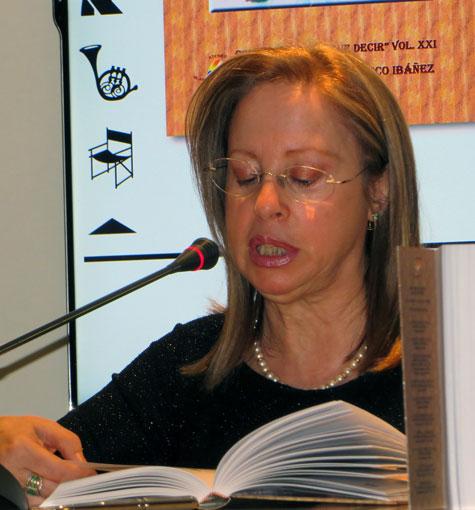 Isabel Oliver (Presidenta del Ateneo Blasco Ibáñez)