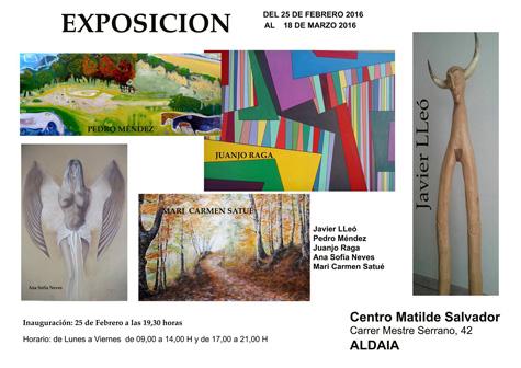 Exposición Pintura y Escultura