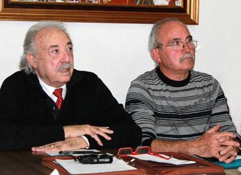 Francisco Ponce y Antonio Baños (Responsables)