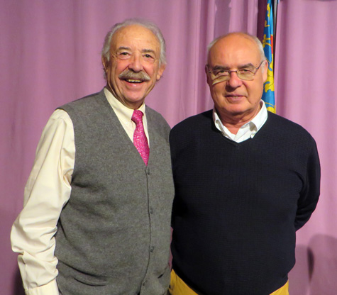 Francisco Ponce y Baltasar Bueno