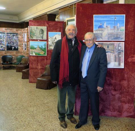 Francisco Ponce y Rafael Valero
