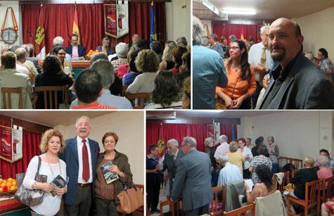 Reunión de público y amigos