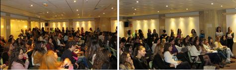 Público para escuchar a Silvia Navarro (Escritora y Diseñadora)