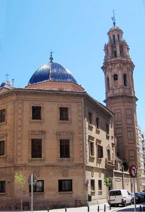 Parte trasera de San Valero (Ruzafa-Valencia)