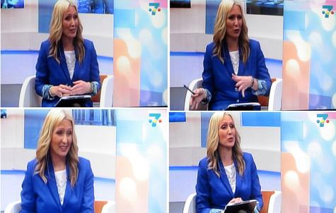 Silvia Costa en Canal 7 Televalencia