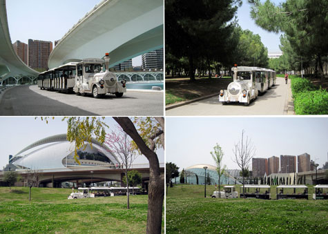 Antiguo cauce Turia de Valencia