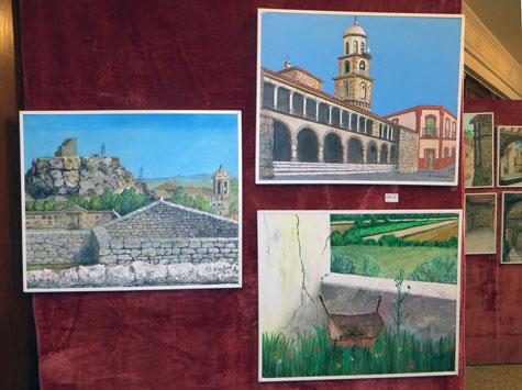Pinturas de Rafael Valero Merlo