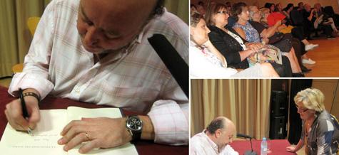 Firma de ejemplares por J.P. Zapater
