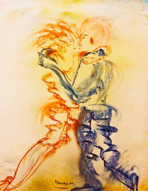 Pintura autora: MASCHA ALEX)