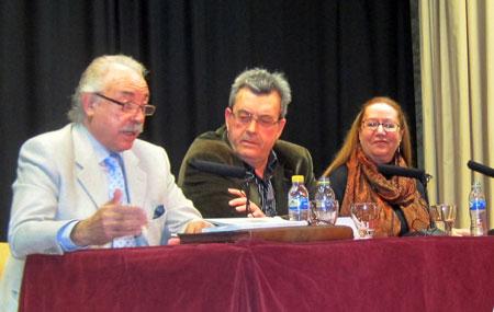 Abre el evento Francisco Ponce (Escritor)