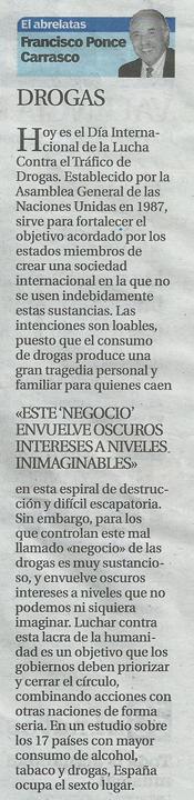 El Abrelatas columna del escritor Francisco Ponce