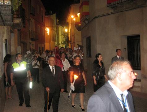 Autoridades Municipales y Alcaldesa (Teresa Gonzalvo)