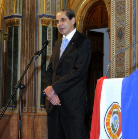 Alfredo Buffa (Embajador y cónsul del Paraguay en Barcelona)