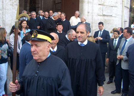 Alguacil y Francisco Camps - Presidente Comunidad Valenciana