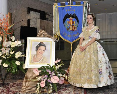 "Amparo Granell Arce (Fallera Mayor 2012 de ""Lo Rat Penat"")"