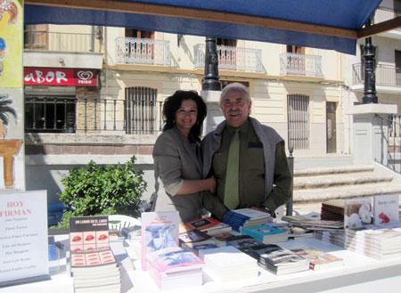 Ana Noguera y Francisco Ponce (Escritores)