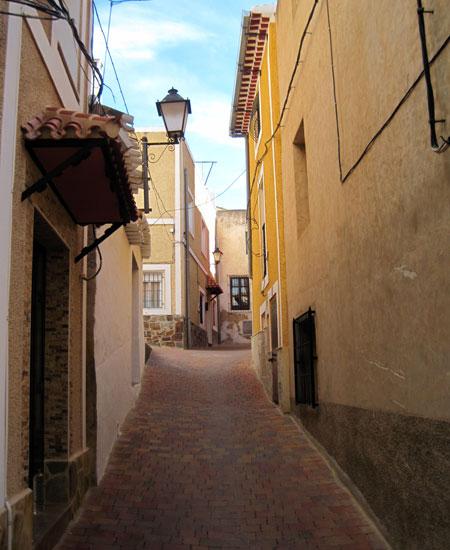 calles de empinada cuesta