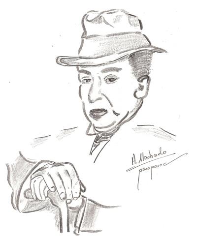 Antonio Machado - Dibujo
