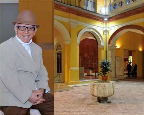 Antonio Monzonis Guillén - Patio Palacio Marques de Campo