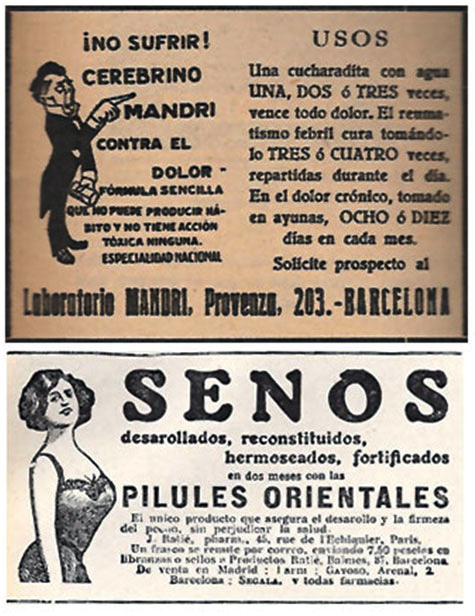 Anuncios prensa años 30