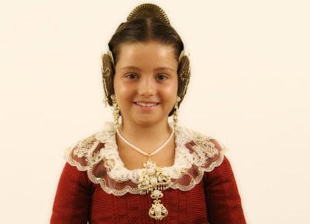 Ariadna Galán, Fallera Mayor Infantin de Valencia 2010