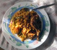 arroz plato