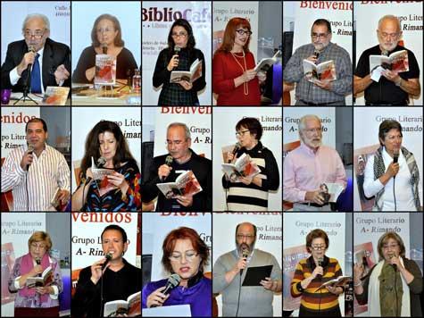 """Autores y lectores de """"Alquimia de los Sentidos"""""""