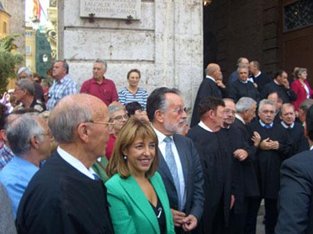Autoridades valencianas