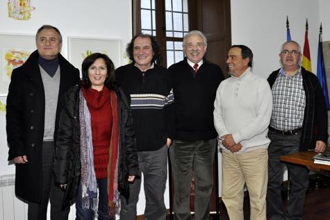 Autoridades, representantes de (ACLA) y escritores