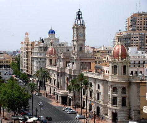 Edificio Ayuntamiento de Valencia