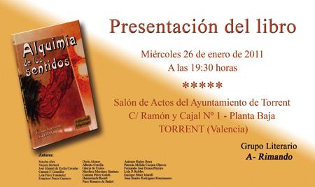"""Libro """"Alquimia de los Sentidos"""""""