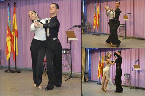 Parejas de Baile de Salón profesionales