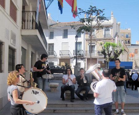 Miembros Banda de Chiva