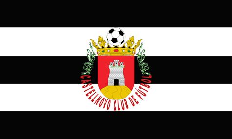 Bandera y escudo del Castellnovo C.F.