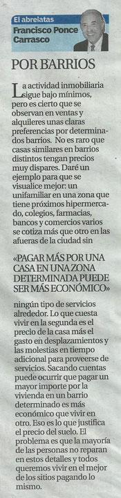 """""""El Abrelatas"""" columna del escritor Francisco Ponce"""